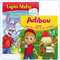 Ludoducatif, Adibou, Atout Clic, Lapin malin, oui oui, passeport, nathan, graine de gnie, dora, Scolaire