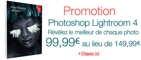 Promotion Photoshop Lightroom 4