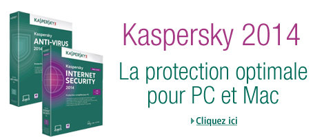La protection optimale avec Kaspersky 2014