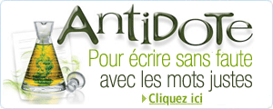 Antidote 8  petit prix