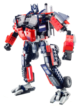 comment construire optimus prime