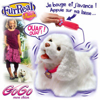 furreal friends 94371 peluche gogo mon chien jeux et jouets. Black Bedroom Furniture Sets. Home Design Ideas