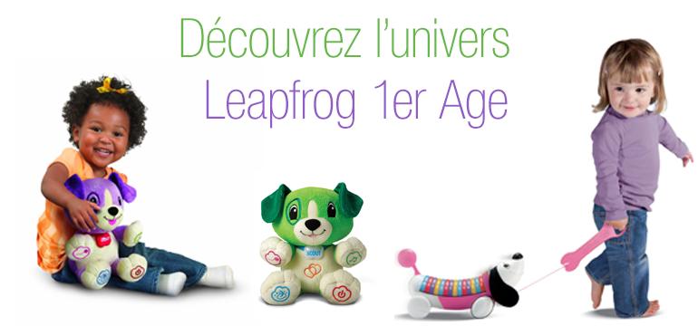 1er ge jeux et jouets jouets d 39 veil - Leapfrog table d eveil musical des animaux ...