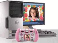 Kidizoom Twist connecté à l'ordinateur