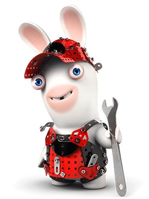 Boutique meccano lapins cr tins - Jeux lapin cretain gratuit ...