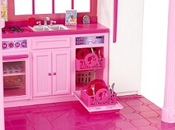 barbie x3551 poup e et mini poup e fabuleuse maison. Black Bedroom Furniture Sets. Home Design Ideas