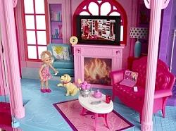 Barbie x3551 poup e et mini poup e fabuleuse maison - Barbie et la maison de reve ...