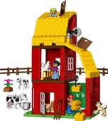 Lego duplo legoville big farm 5649 for Modele maison lego duplo
