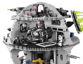 comment construire l'etoile noire lego