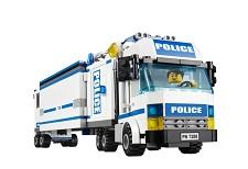 Lego city 7288 jeu de construction l 39 unit de police mobile jeux et jouets - Lego camion police ...
