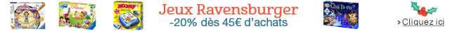 Offre Jeux Ravensburger : -20% d�es 45� d'achats