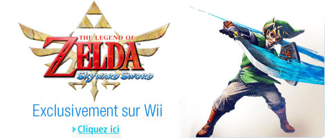 the Legend of Zelda : Skyward Sword en �ditions limit�e ou standard sur Wii