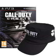 Call of Duty : Ghosts commandé = la casquette offerte