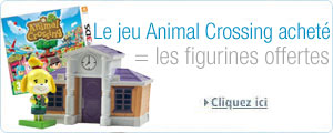 Animal Crossing 3DS + figurines promotion