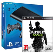 Console PlayStation 3 avec 2 manettes + Call of Duty : Modern Warfare 3 � partir de 219,99 euros