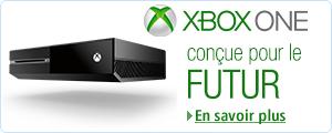 xbox One - Con�ue pour le futur