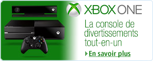 xbox One - page d'accueil