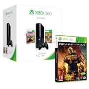 La console Xbox 360 250 Go + Forza Horizon + Borderlands 2 achetée = le jeu Gears of War : Judgment offert