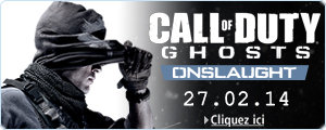 Call of Duty Ghosts : Map Pack Onslaught