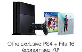 Promotion playStation 4