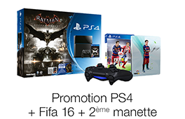 Promotion playStation 4