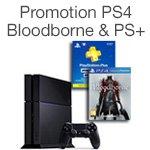 Promotion PS4 + Bloodborne + PS Plus