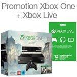 Xbox One achet�e = -20% sur un abonnement Xbox Live Gold