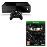 1 console Xbox One + 1 jeu ou accessoire de la sélection = 399 euros