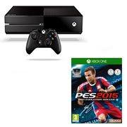 1 console Xbox One achetée = PES 2015 à 30 euros