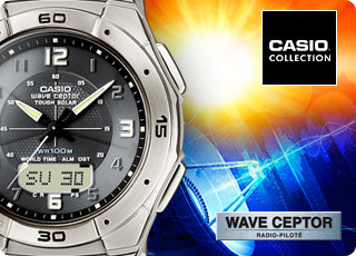 Casio Collection - Wave Ceptor