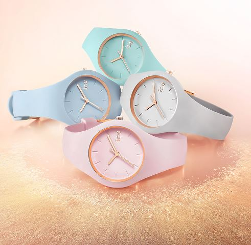 Ice watch ice glam pastel aqua small montre femme - Montre ice watch bleu turquoise ...