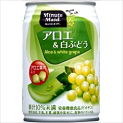 コカ・コーラ ミニッツメイド アロエ&白ぶどう