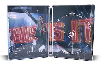 マイケル・ジャクソン THIS IS IT (Amazon限定スチールブック仕様/完全数量限定/特製ブックレット付き) [Blu-ray]