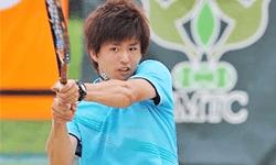 羽生沢 哲朗 選手   テニス