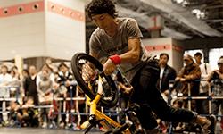 井谷 雅 選手   BMX Flatland