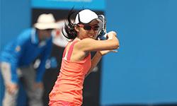 西郷 幸奈 選手   テニス