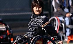坂口 竜太郎 選手   車いすテニス
