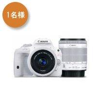 Canon デジタル一眼レフカメラ EOS Kiss X7(ホワイト) ダブルレンズキット