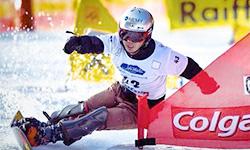 斯波 正樹 選手   スノーボードアルペン