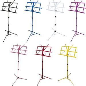 カラーバリエーションが豊富な定番譜面台