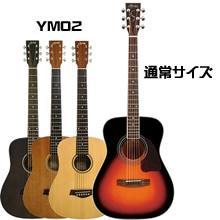 スタンダードなギターとのサイズ比較