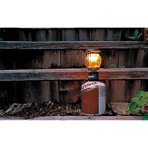 ギガパワー2WAYランタン CB缶兼用可能、吊り下げも対応小型ガスランタン