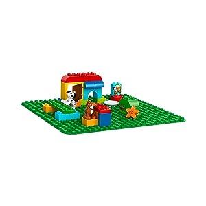 レゴ デュプロ 基礎板(緑) 2304 商品詳細