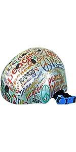 ラングスジャパン(RANGS) アクティブスポーツヘルメット ピース レッド