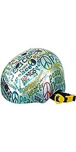 ラングスジャパン(RANGS) アクティブスポーツヘルメット ピース ブルー