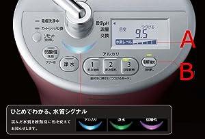 Panasonic アルカリイオン整水器 液晶