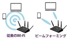 移動するスマホやタブレットへ、集中して電波を届ける:ビームフォーミング
