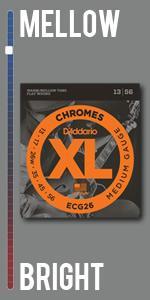 XL Chromes Flat Wound