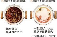 鍋 焦げ 防止 焦げ付き防止 消火 安心 煮込み カレー 煮物