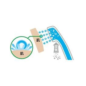 TOTO 浴室用 壁付サーモスタットシャワー金具 スパウト長170mm TMGG40E エアインシャワー